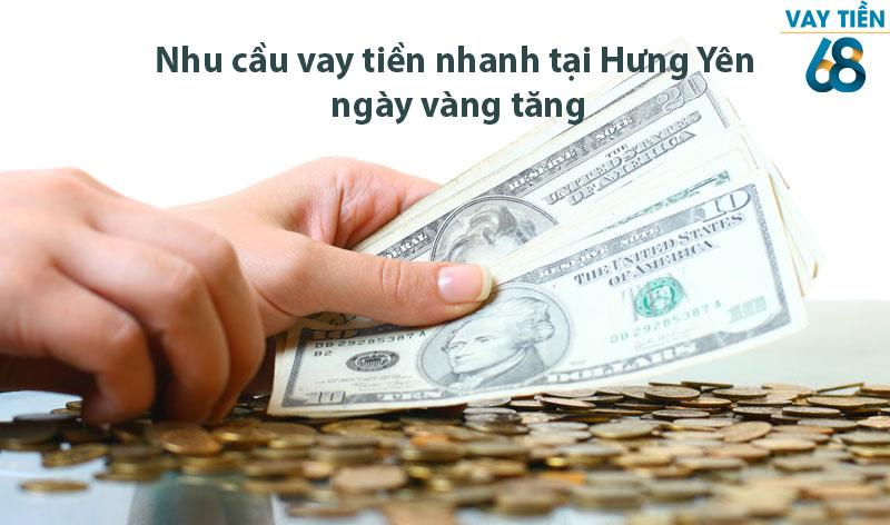 Nhu cầu vay tiền nhanh tại Hưng Yên ngày vàng tăng