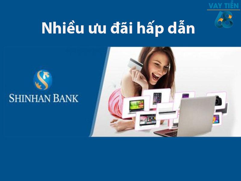 Mở thẻ tín dụng Shinhan với nhiều ưu đãi hấp dẫn