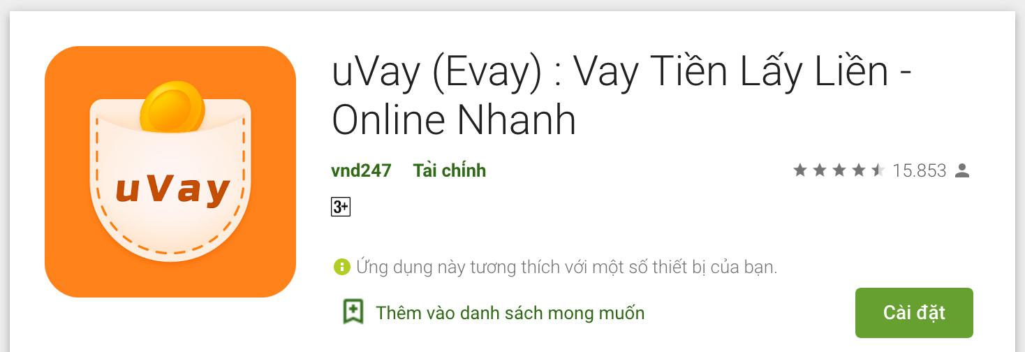 Ứng dụng Uvay